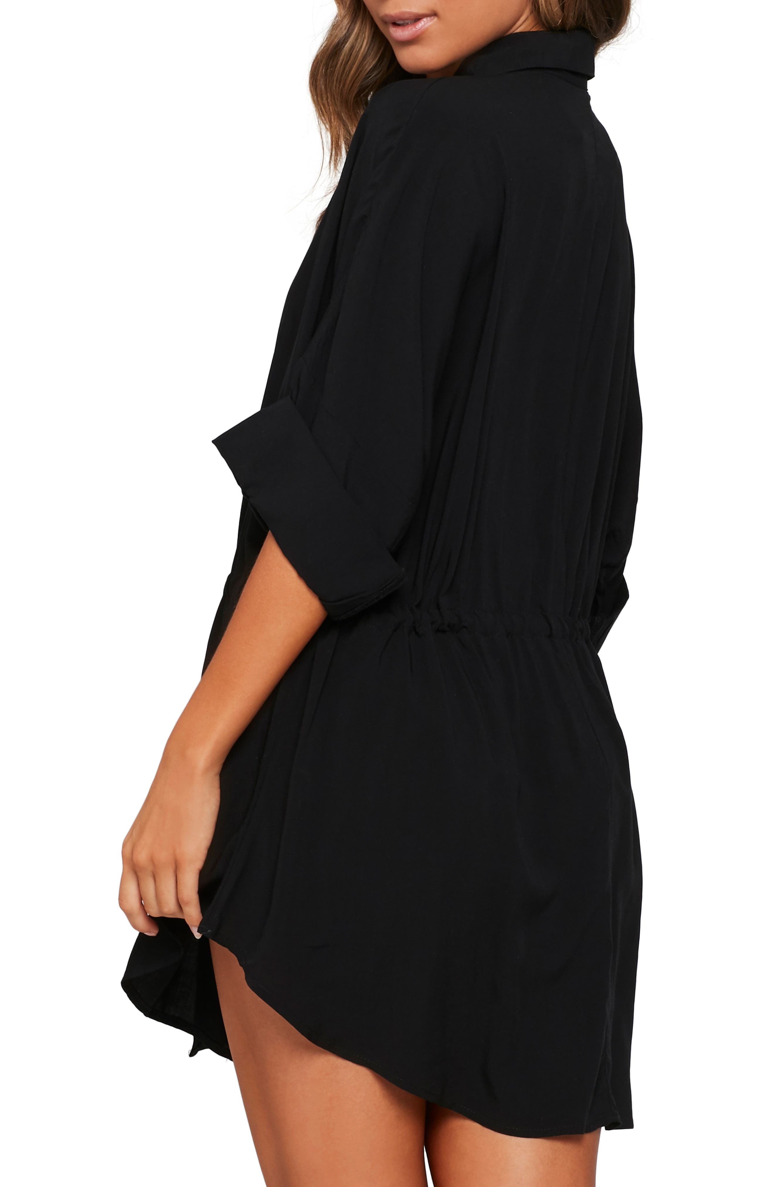 ,                             Pacifica Cover-Up Tunic,                             Alternate thumbnail 2, color,                             BLACK