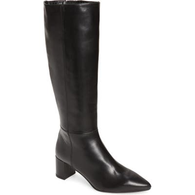 Aquatalia Karen Weatherproof Tall Boot- Black