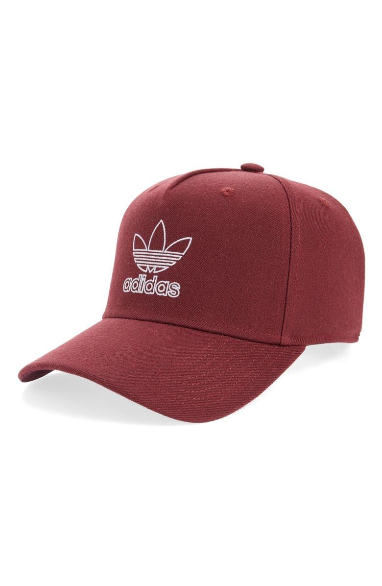 ADIDAS ORIGINALS Dart Precurve Embroidered Cap, Main, color, 600