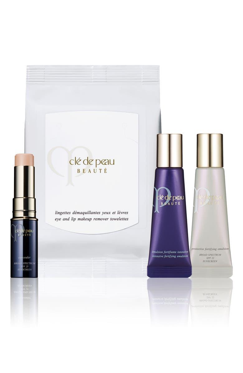 CLÉ DE PEAU BEAUTÉ Concealer & Skin Care Set, Main, color, 000