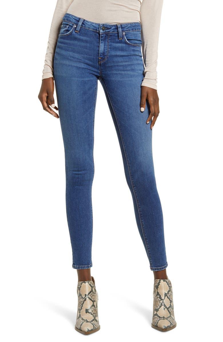 HUDSON JEANS Krista Super Skinny Jeans, Main, color, EXCURSION