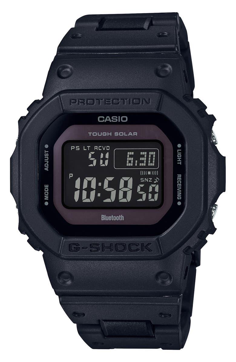 G-SHOCK BABY-G G-Shock Digital Resin Strap Watch, 43mm, Main, color, 001