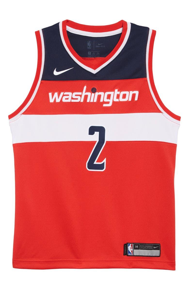 online store 166e0 7bed2 Washington Wizards John Wall Basketball Jersey
