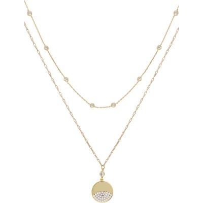 Ettika Set Of 2 Crystal Necklaces