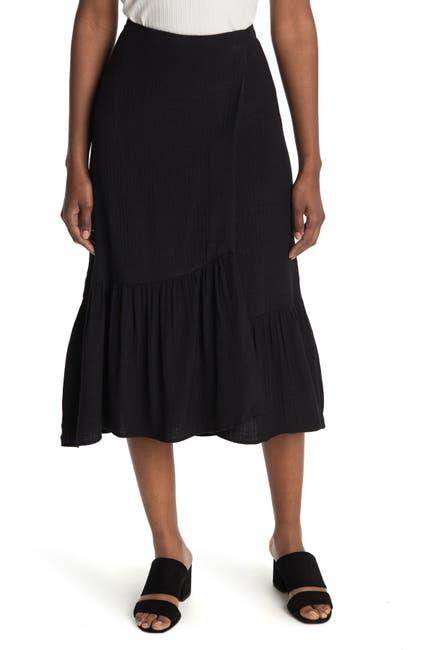 Image of NANETTE nanette lepore Ruffle Midi Skirt