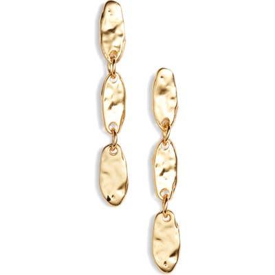 Karine Sultan Linear Drop Earrings