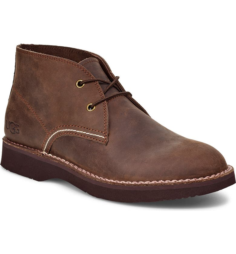 UGG<SUP>®</SUP> Camino Water Resistant Chukka Boot, Main, color, GRIZZLY