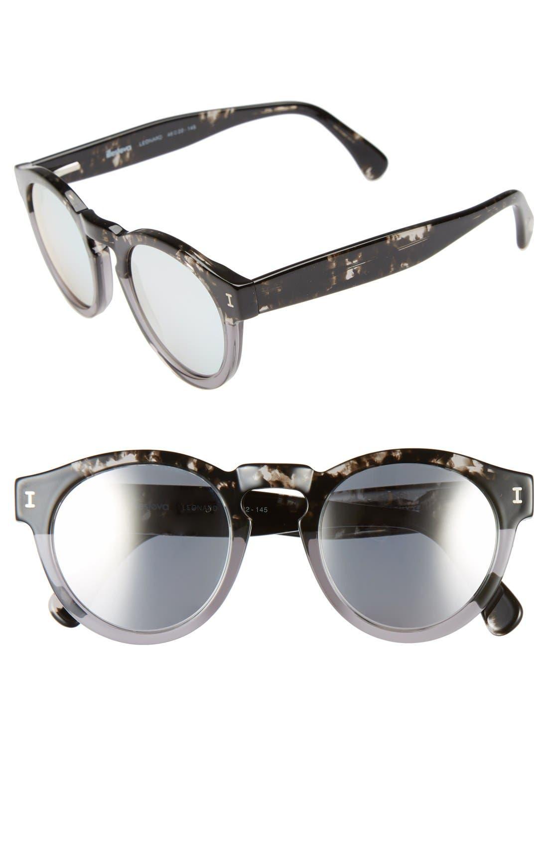 ,                             'Leonard' 47mm Sunglasses,                             Main thumbnail 27, color,                             020