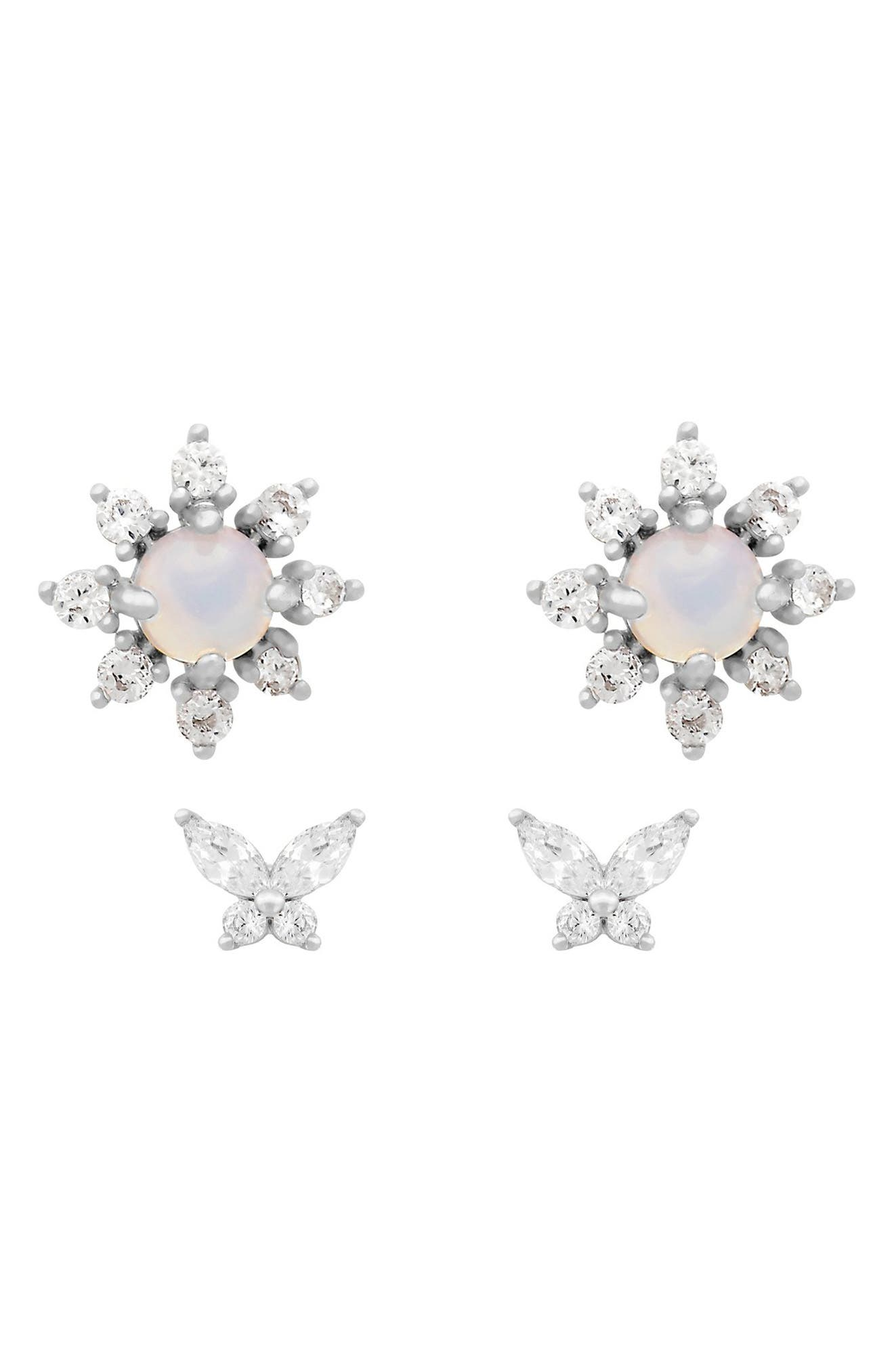 Butterfly Dream Set Of 2 Stud Earrings