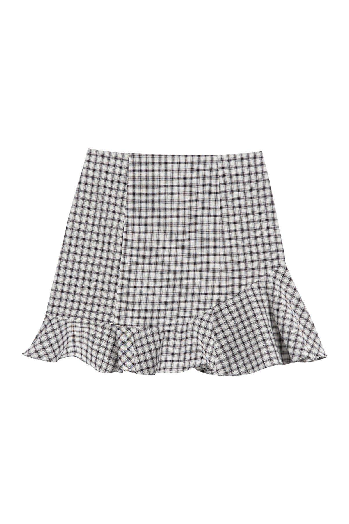 Image of MINKPINK Taleah Gingham Mini Skirt