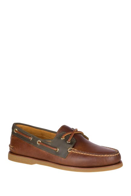 Image of Sperry Authentic Original Cross Lace Boat Shoe