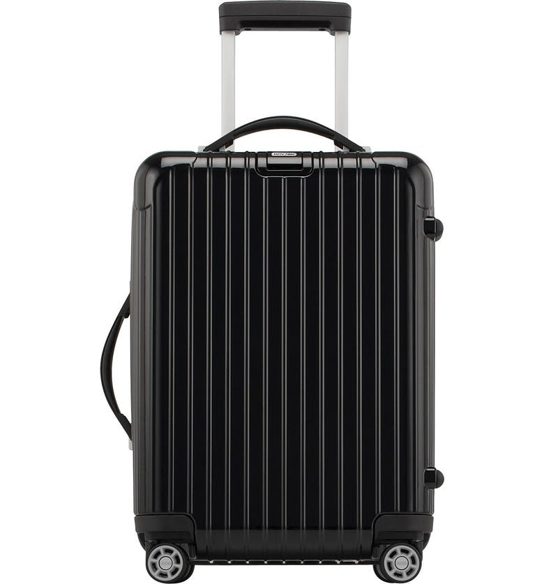 RIMOWA Salsa 22-Inch Deluxe Cabin Multiwheel<sup>®</sup> Carry-On, Main, color, 001