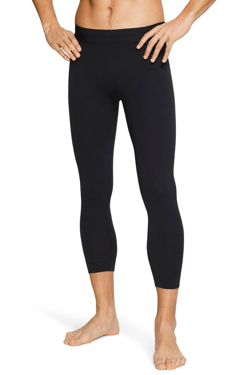 NIKE Dri-FIT Three Quarter Performance Tights, Main, color, BLACK/ BLACK