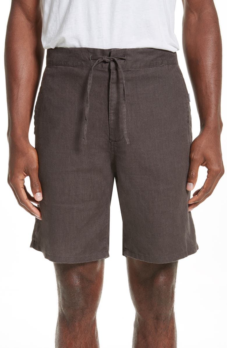 ONIA Max Linen Shorts, Main, color, 019