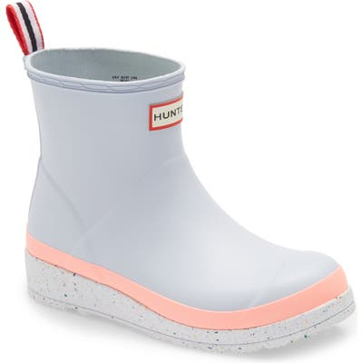 Hunter Original Play Speckled Platform Waterproof Rain Boot, Grey