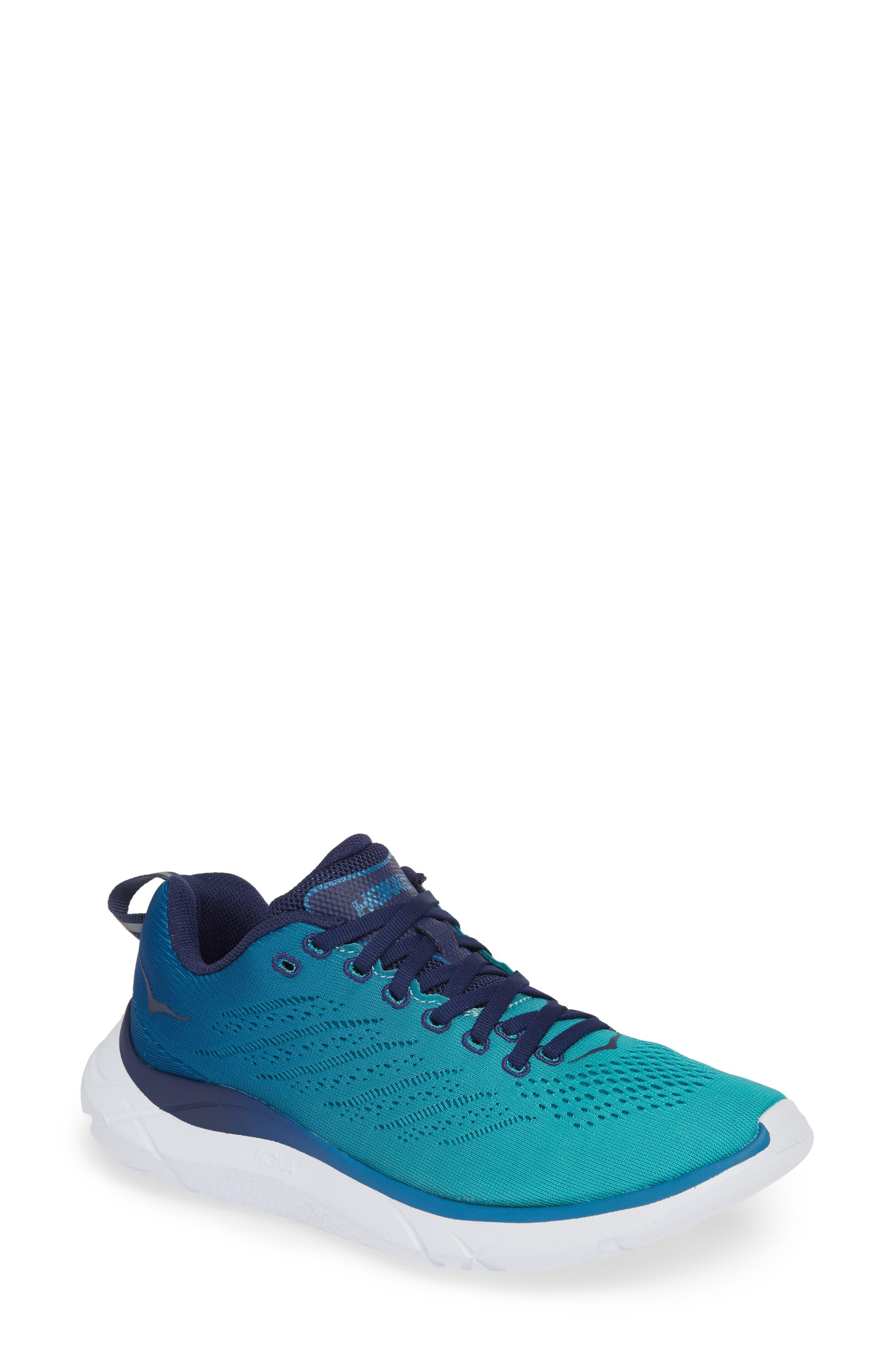 Hoka One One Hupana Em Sneaker, Blue/green