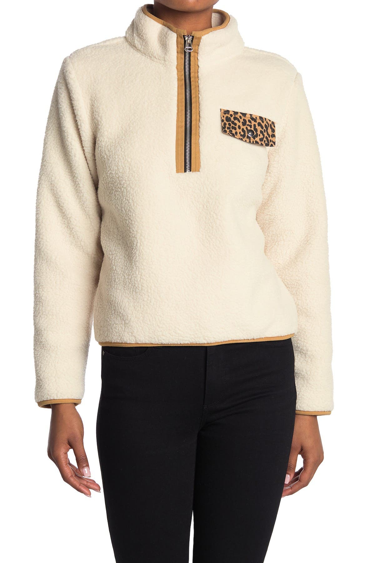 Image of ROW A Faux Shearling Jacket