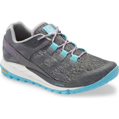 Merrell Antora Trail Running Shoe, Grey