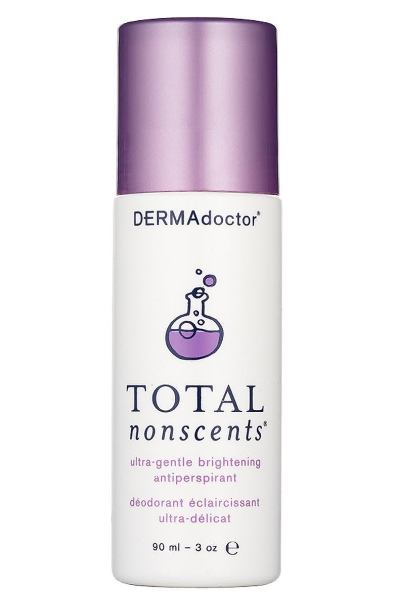 DERMADOCTOR<SUP>®</SUP> DERMAdoctor Total Nonscents<sup>™</sup> Ultra-Gentle Brightening Antiperspirant, Main, color, NO COLOR