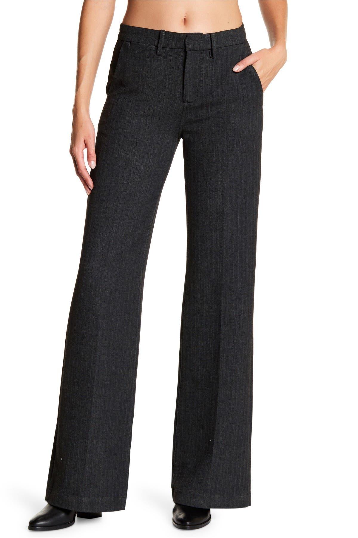 Image of AG Skylar High Rise Wide Leg Trouser