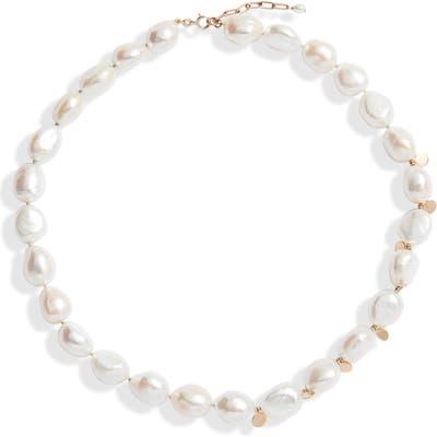 Poppy Finch Confetti Baroque Pearl Necklace