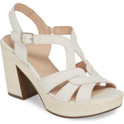 Wonders Block Heel Sandal, White