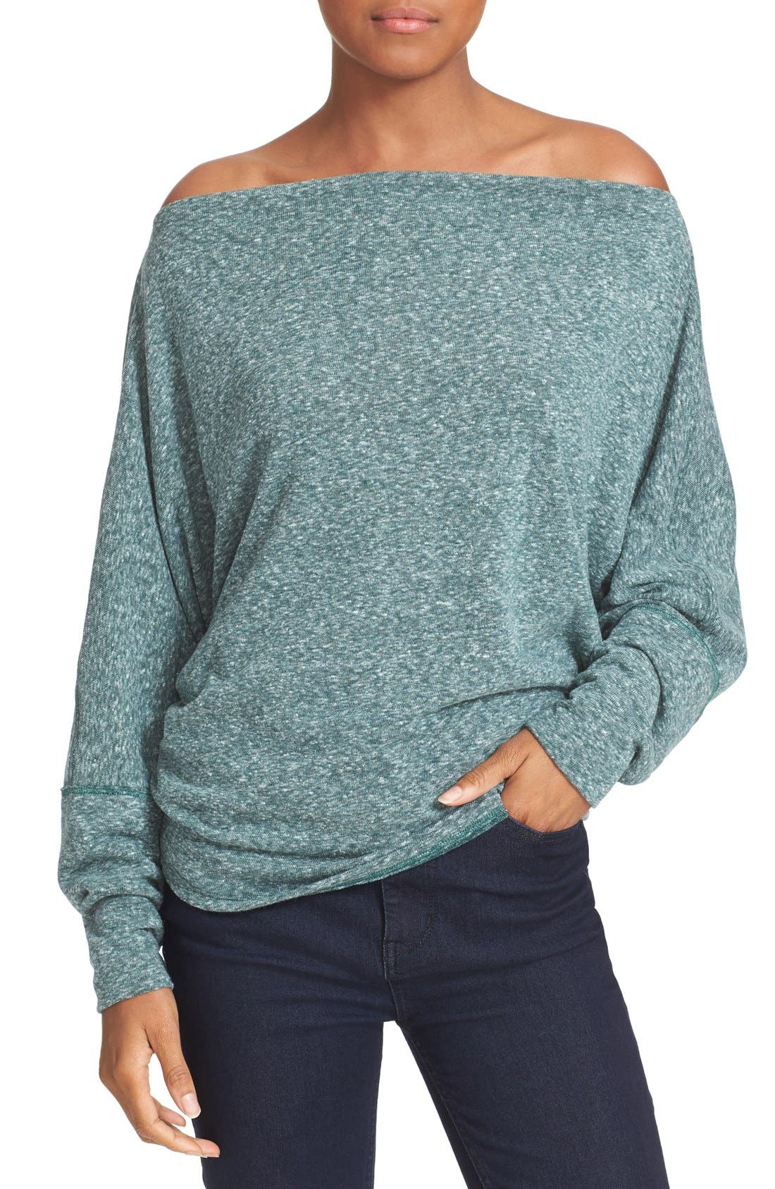 ,                             Valencia Off the Shoulder Pullover,                             Alternate thumbnail 40, color,                             440