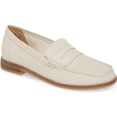 Hush Puppies Wren Loafer- Ivory