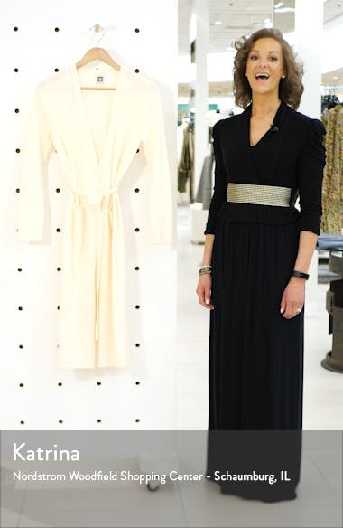 Long Belted Cardigan, sales video thumbnail
