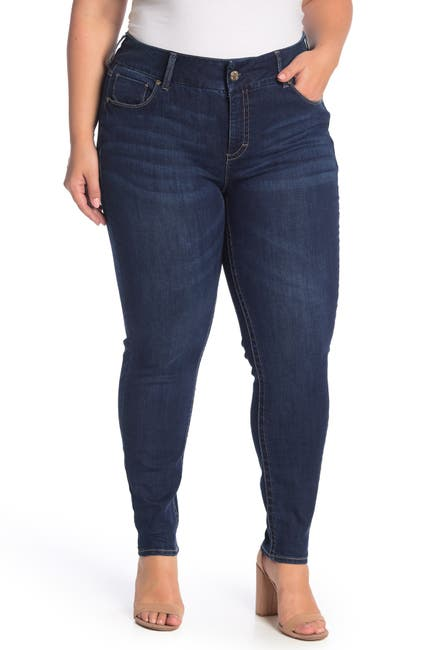 Image of Seven7 Mid Rise Skinny Jeans