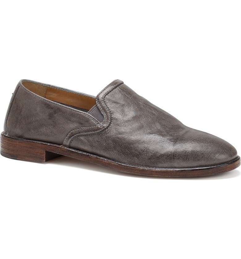 TRASK Ali Loafer, Main, color, GREY LEATHER