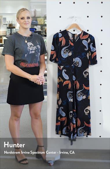 Handkerchief Hem Midi Dress, sales video thumbnail