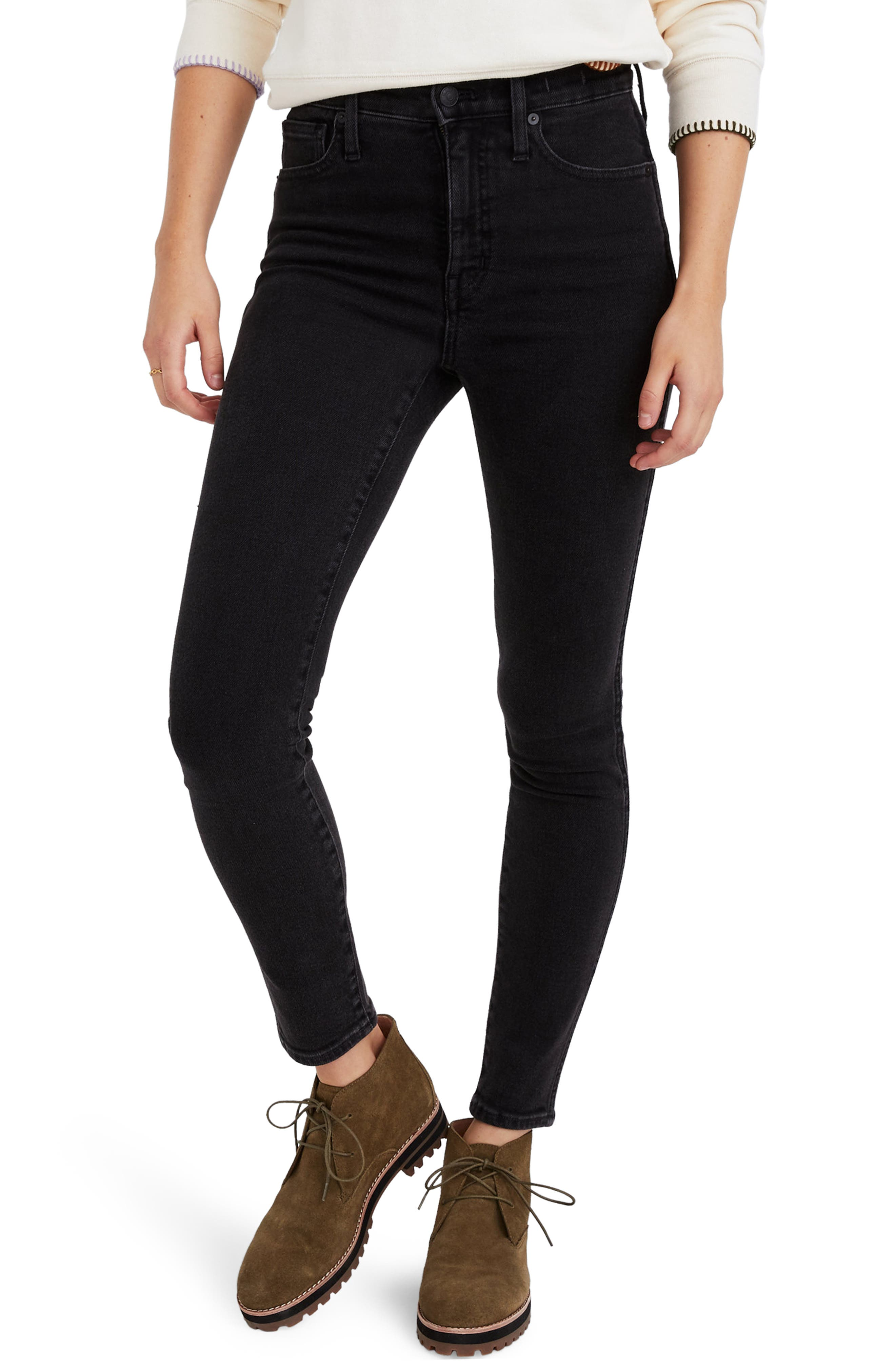 Image of Madewell 10-Inch High Waist Ankle Skinny Jeans