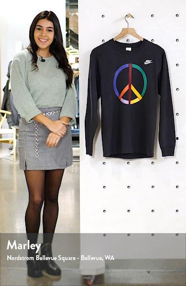 x Olivia Kim Peace Sign Long Sleeve Tee, sales video thumbnail