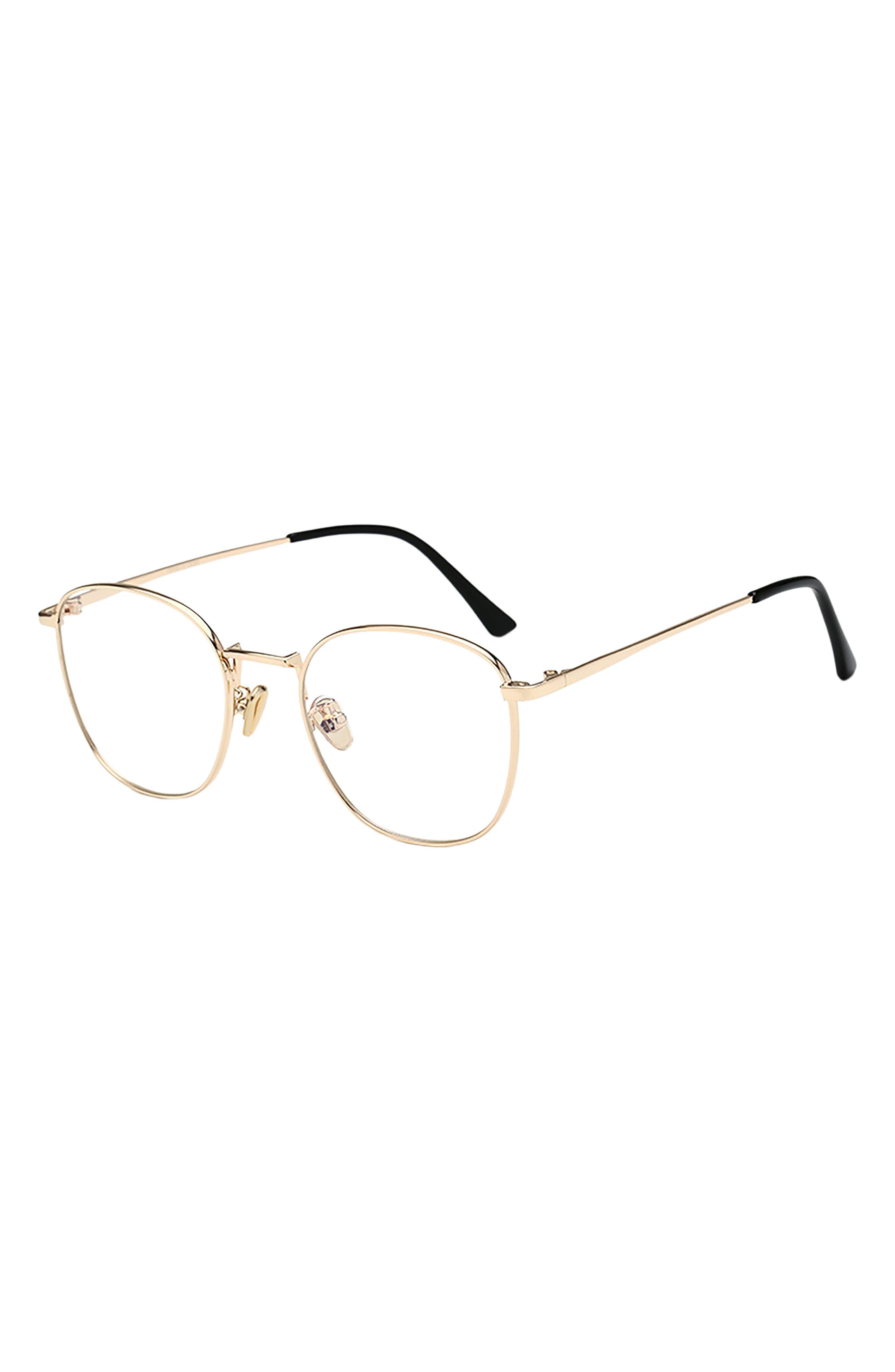 Indy 51mm Round Blue Light Blocking Glasses
