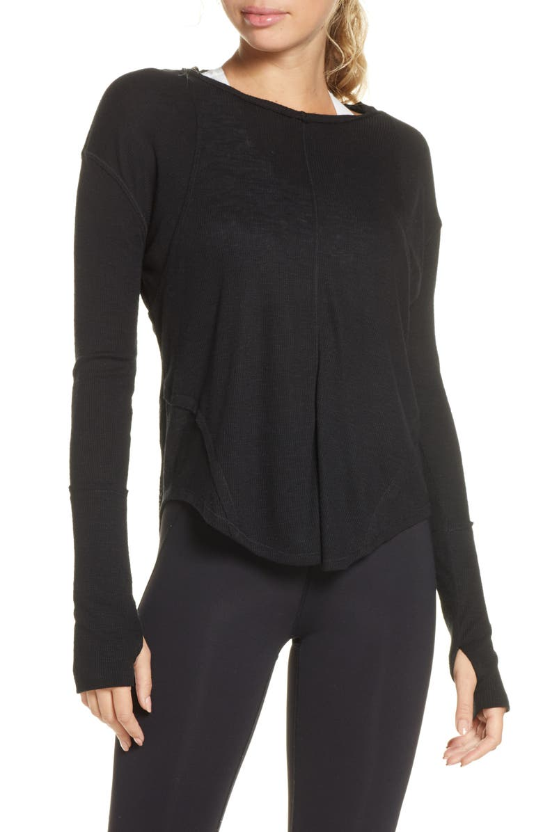 FREE PEOPLE FP MOVEMENT Lay Up Tee, Main, color, 005