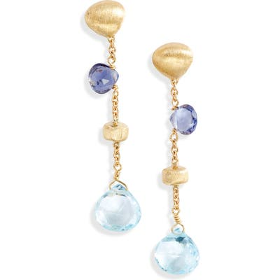 Marco Bicego Africa Semiprecious Stone Drop Earrings