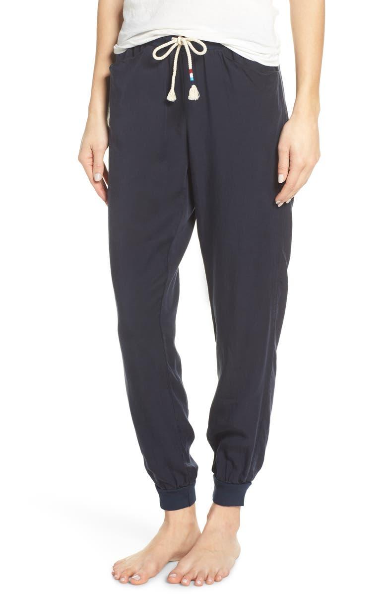 SOL ANGELES Tencel<sup>®</sup> Lyocell Jogger Pants, Main, color, INDIGO