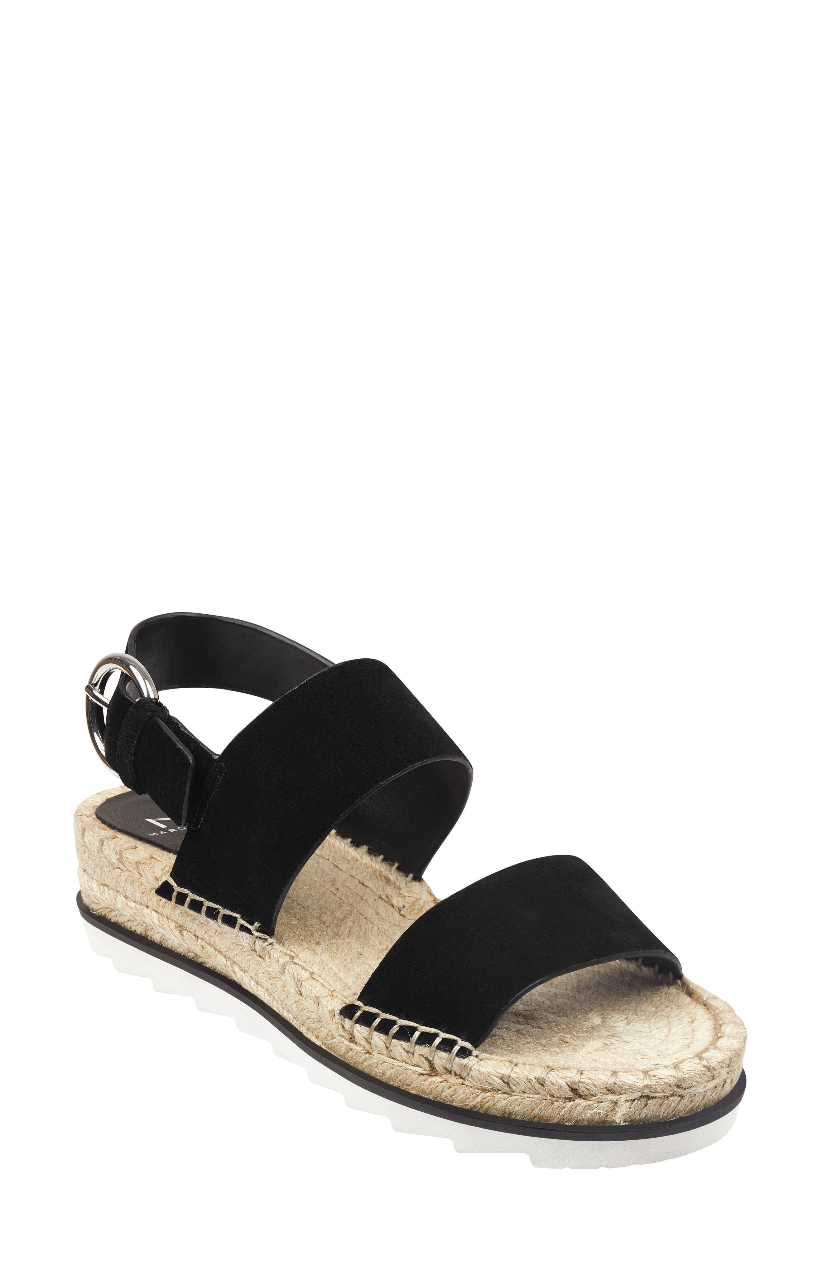 Marc Fisher Ltd Phebe 2 Espadrille Sandal, Black