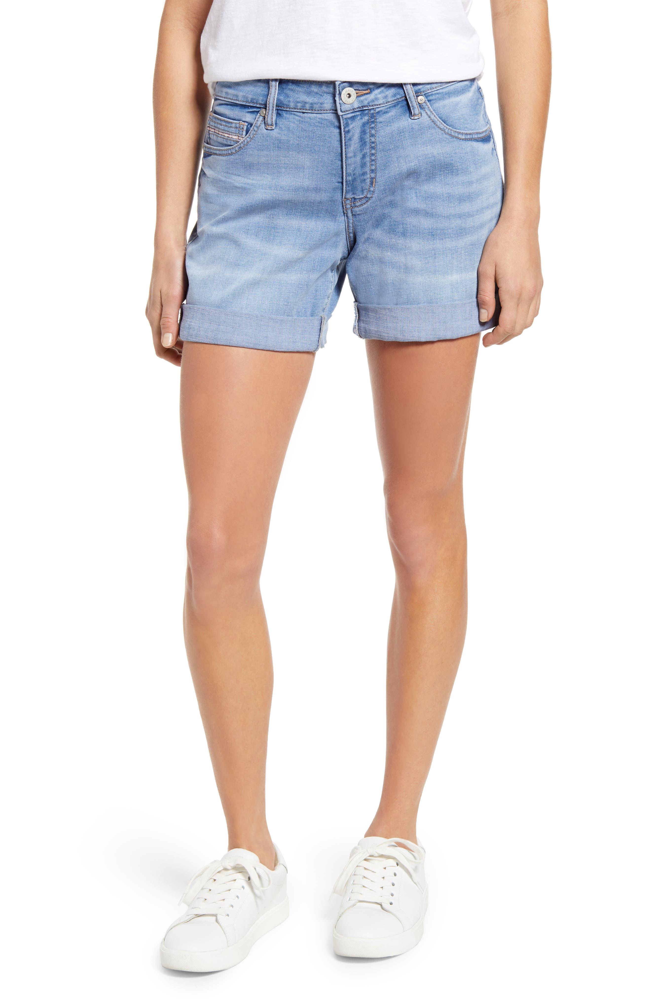 Alex Denim Boyfriend Shorts
