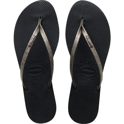 Havaianas You Shine Flip Flop, 1/42 BR - Grey