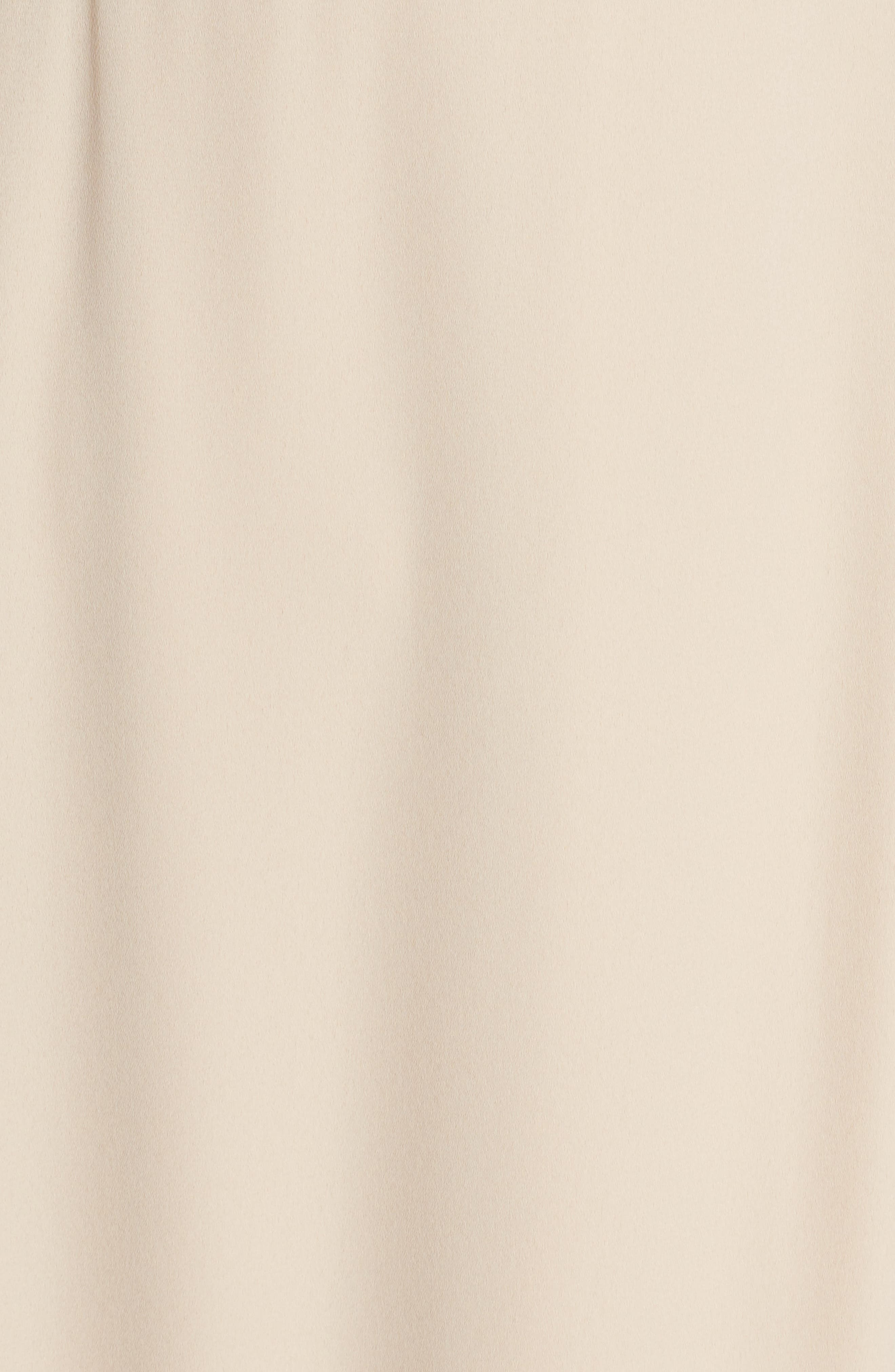 ,                             The Angelina Slit Wrap Gown,                             Alternate thumbnail 6, color,                             CHAMPAGNE