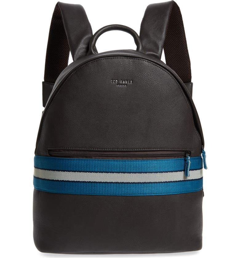 TED BAKER LONDON Agro Backpack, Main, color, CHOCOLATE