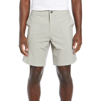 Faherty All Day Flat Front Shorts, Beige