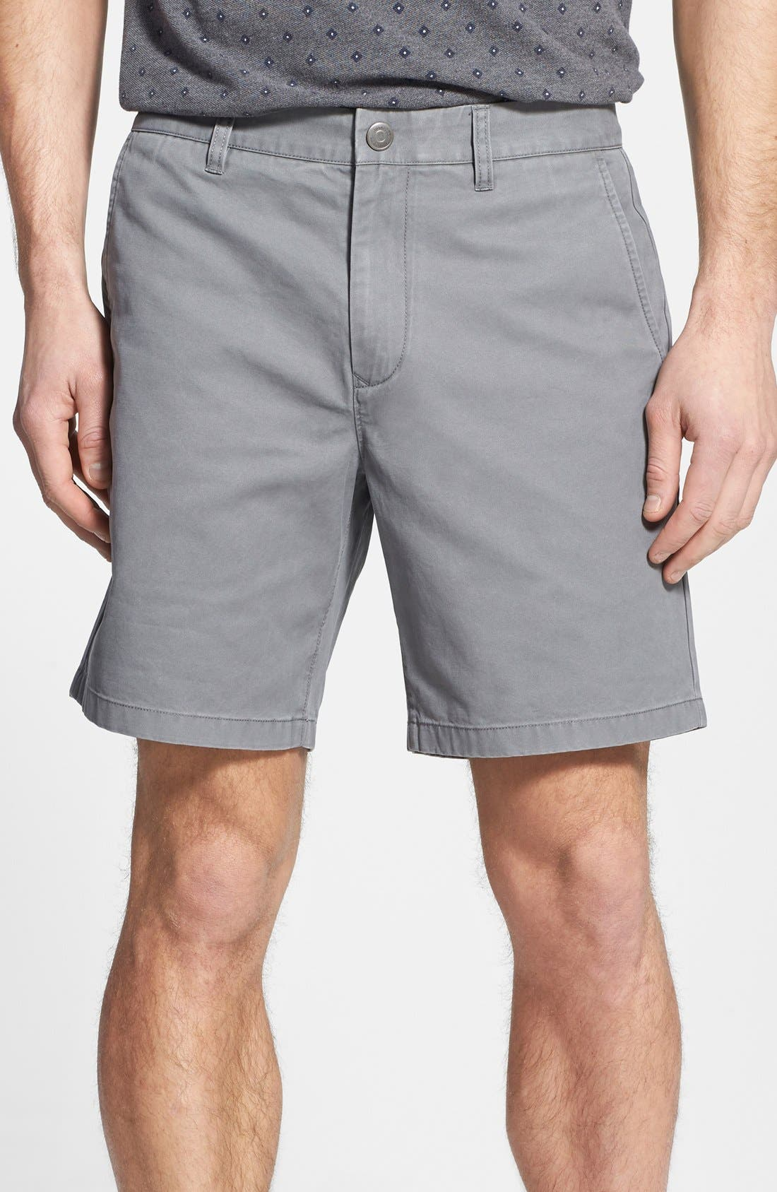 ,                             Washed Chino Shorts,                             Main thumbnail 9, color,                             020