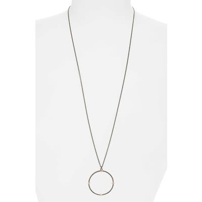 Armenta Open Circle Pendant Necklace