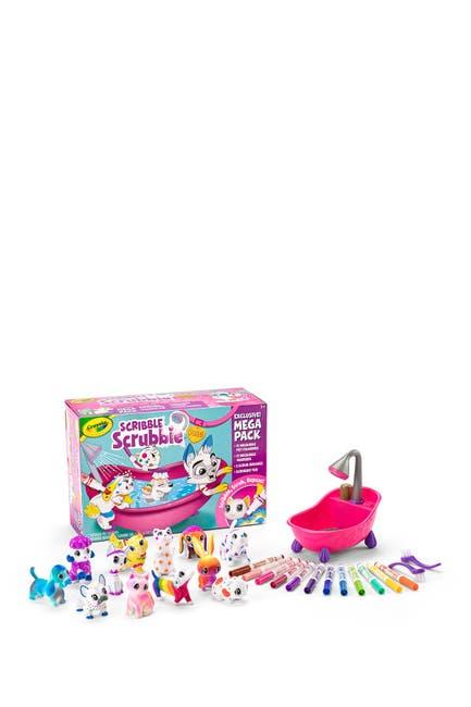 Image of Crayola Scribble Scrubbie Pet Mega Set