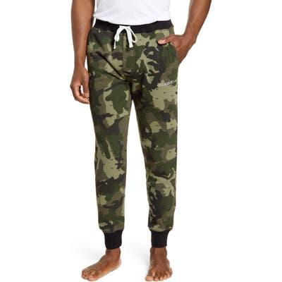 Diesel Peter Jogger Pajama Pants, Green
