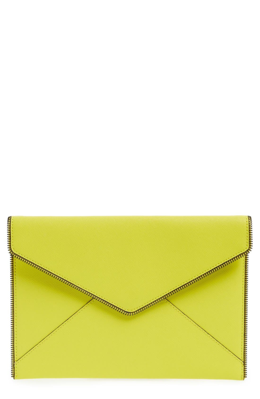,                             Leo Envelope Clutch,                             Main thumbnail 291, color,                             701