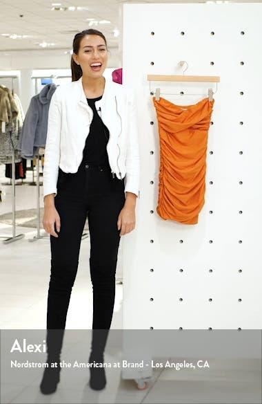Matteo Strapless Body-Con Minidress, sales video thumbnail